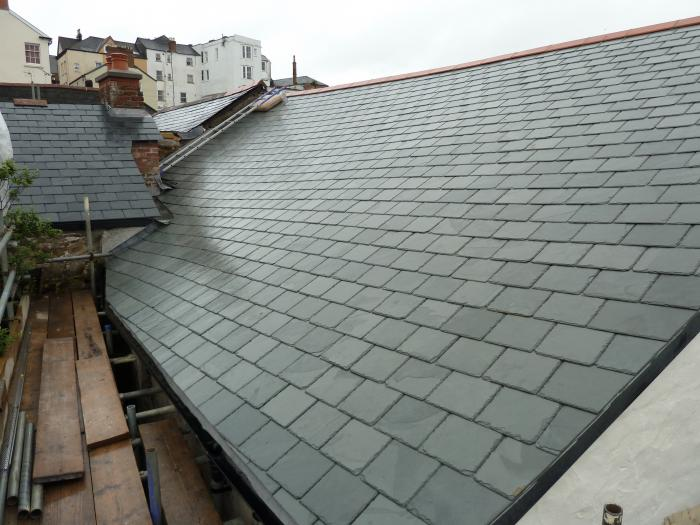 New slates on back of no3